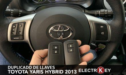 DUPLICADO DE LLAVES toyota YARIS hybrid 2013