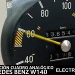 reparación cuadro analógico mercedes benz w140