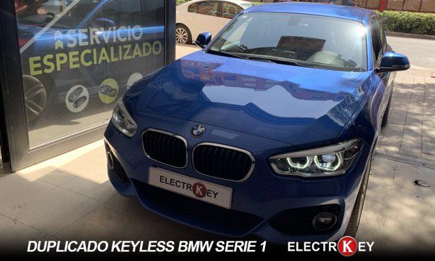 DUPLICADO keyless BMW SERIE 1