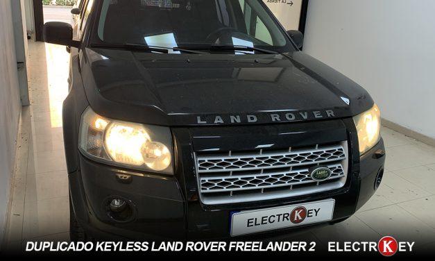 DUPLICADO keyless land rover freelander 2