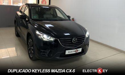 DUPLICADO keyless MAZDA CX5