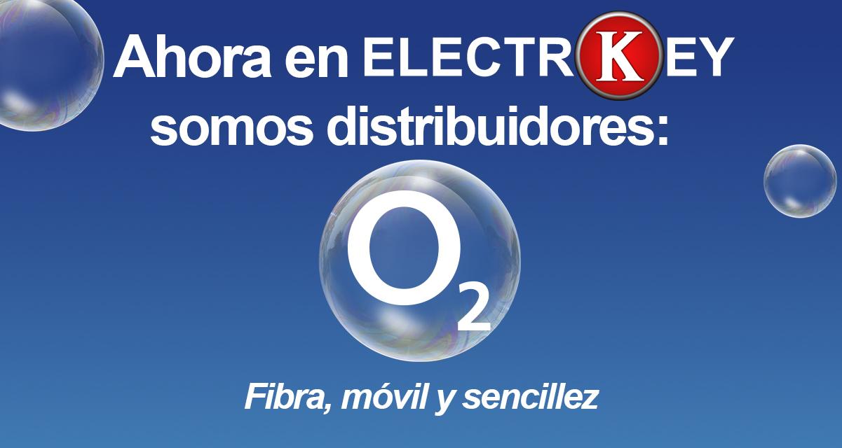 ELECTROKEY · DISTRIBUIDOR oficial O2