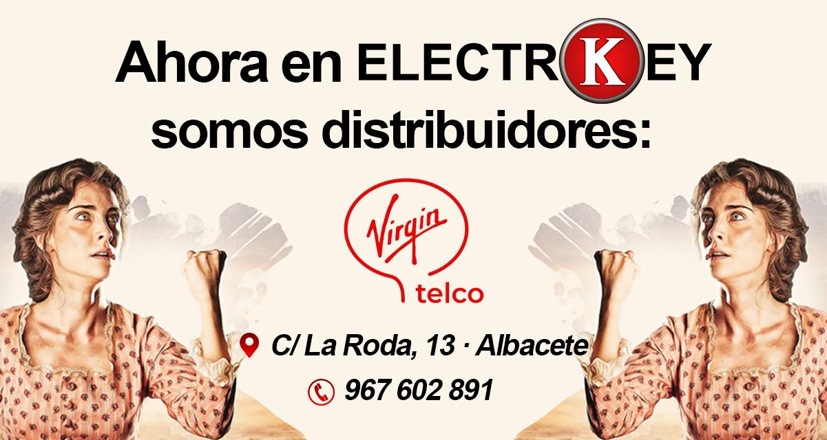 ELECTROKEY · DISTRIBUIDOR oficial virgin telco