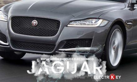 reparación bloqueo electrónico jaguar